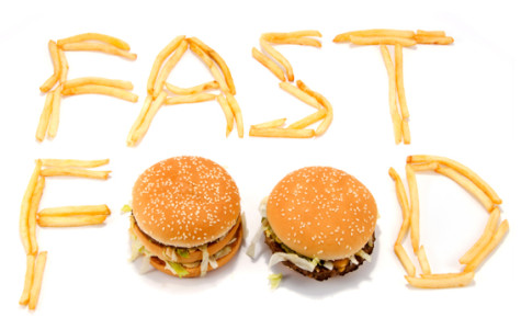 Fast food = tempting, but unhealthy