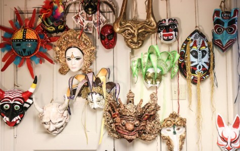 Masks on parade