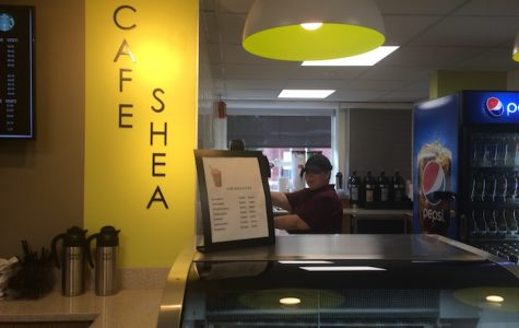 Café Shea – a great spot to study and collaborate