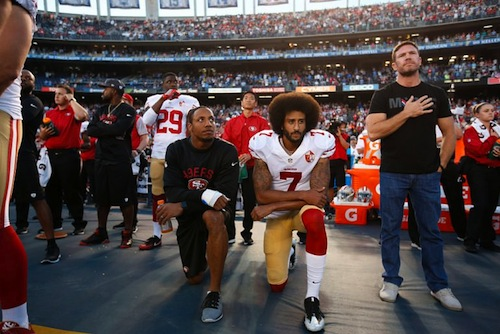 Colin Kaepernick says he's received death threats since protest began