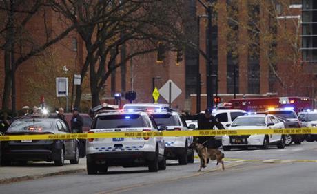 Tragedy at Ohio State University