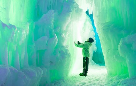 A trip to the Ice Castle in Lincoln, N.H.