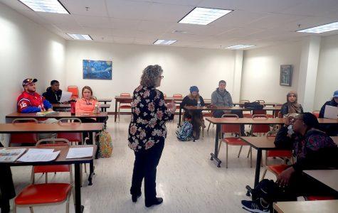 Public relations professional visits AIC's Public Relations class
