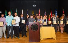Photos from the 2017 Co-Curricular Leadership & Involvement Awards Ceremony