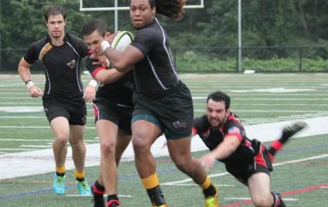 AIC rugby: A damp beginning