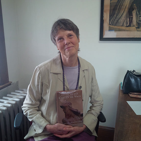 AIC English Professor Robin Varnum and her new book.