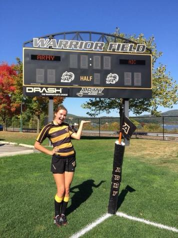 Carrie Vaillancourt, AIC rugby powerhouse