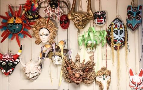 Masks on parade