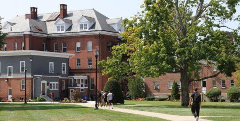 AIC campus, a new world for freshmen.
