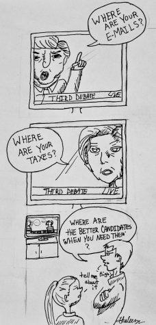 Political cartoon by Thaleeza Saenz-Flores
