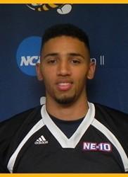 Daquan Holmes, AIC football defensive back.