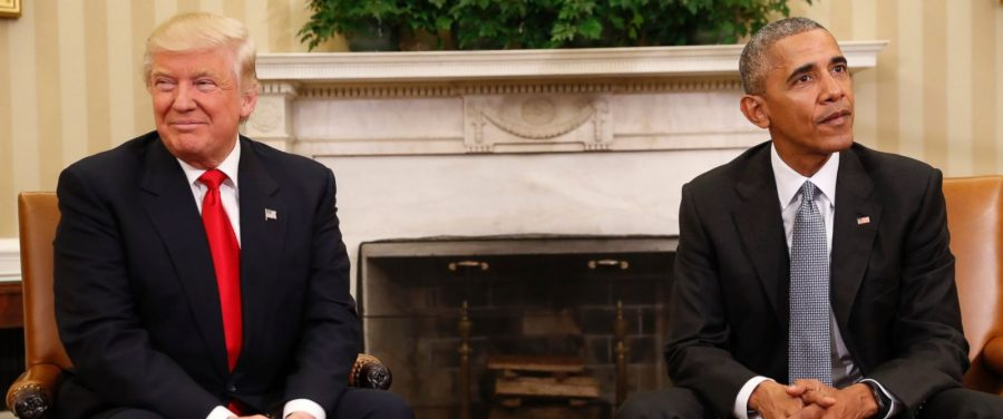 Trump meets with President Obama at the White House on Thursday, November 10.
