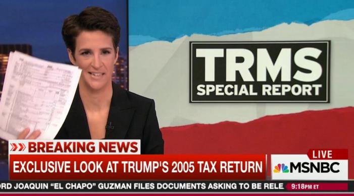 Rachel Maddow's Trump tax