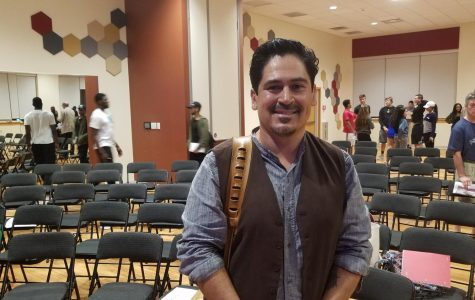 """Tim Z. Hernandez, author of """"All They Will Call You,"""" visits AIC"""
