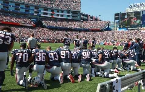 Football protests get political