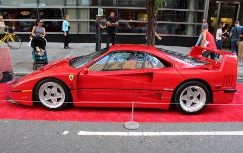 Ferrari extravaganza in NYC
