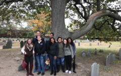 Witches galore: AIC honors students head to Salem for Halloween