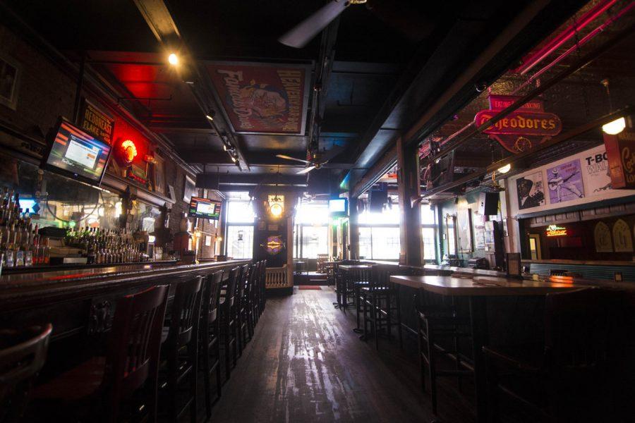 The interior of Theodore's Blues, Booze & BBQ. Photo courtesy Shaina Mishkin, MassLive.com