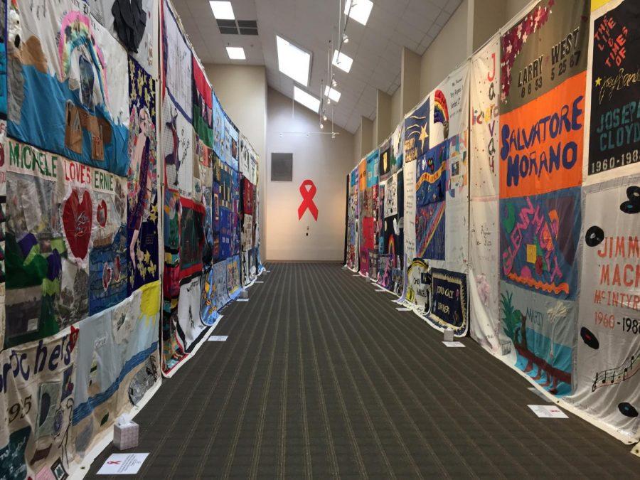AIC hosts The AIDS Memorial Quilt