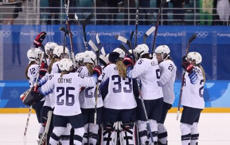 Olympic hockey under way