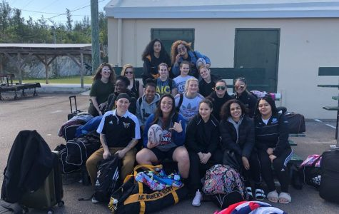 Bermuda Sevens champs, a big win for AIC women's rugby