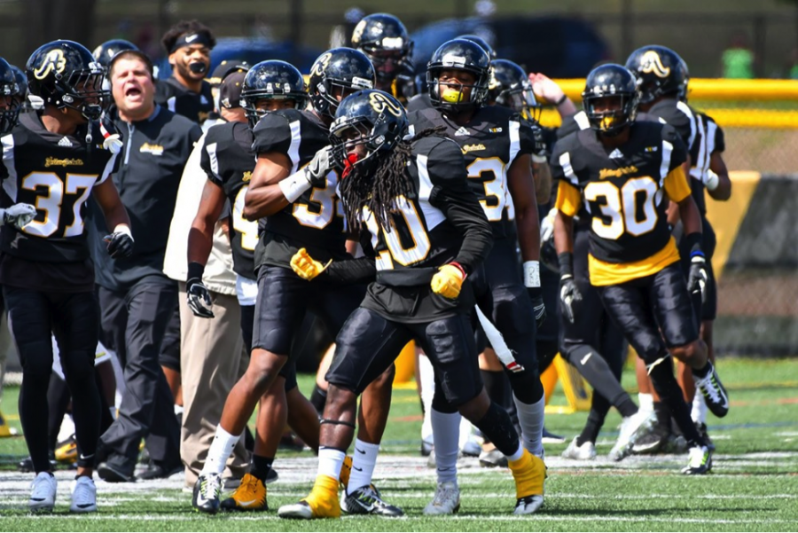 Spring football at AIC — back to the grind