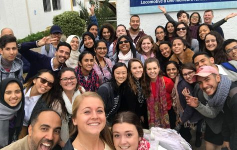 Occupational therapy students travel to Morocco