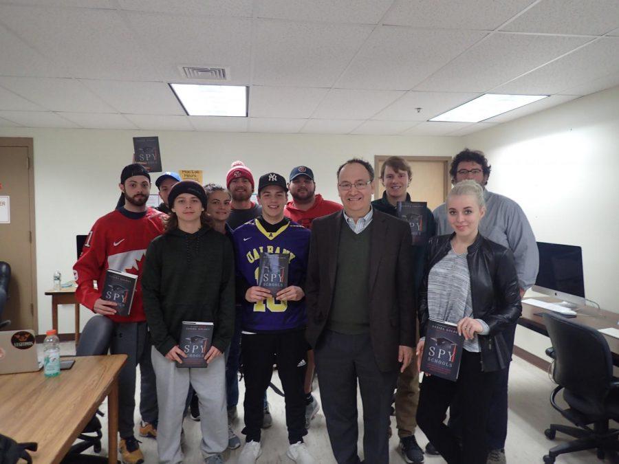 Pulitzer Prize winner Daniel Golden visits AIC