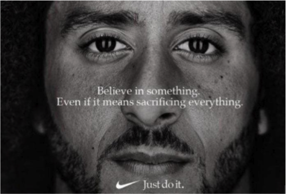 Nike 'stands up' for Colin Kaepernick