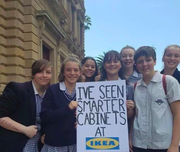 Australian students take a protest day