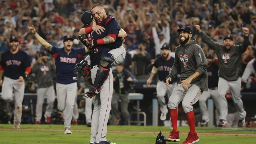 Red Sox are world champions!