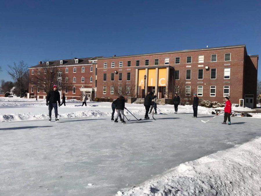 Quadrangle ice time for all
