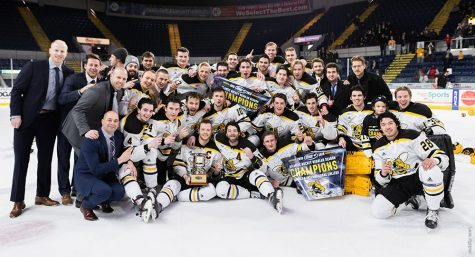 AIC Hockey Team wins championship!