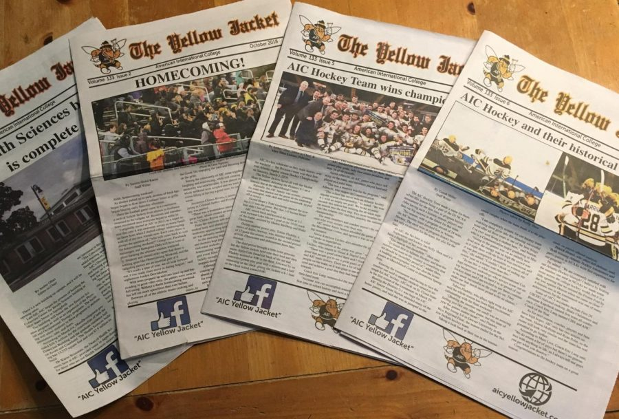 Yellow Jacket newspaper wins another national award!