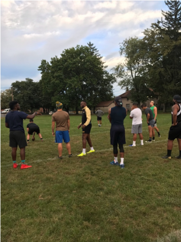 Men's rugby takes on a new sport
