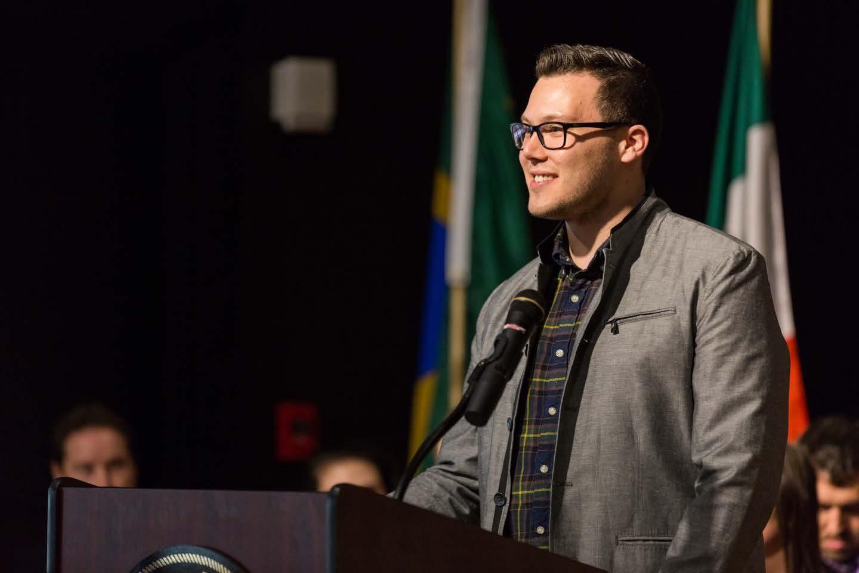 AIC's Associate Dean of Student Life, Alexander Cross.