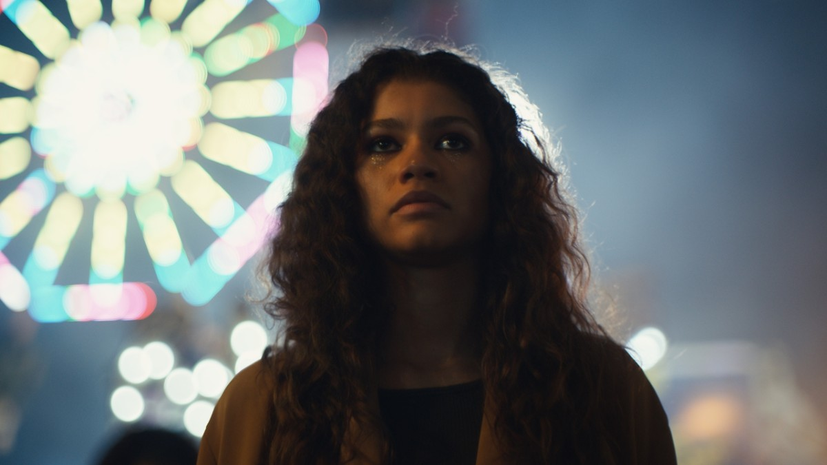 Rue, played by Zendaya, who is the protagonist of the show.