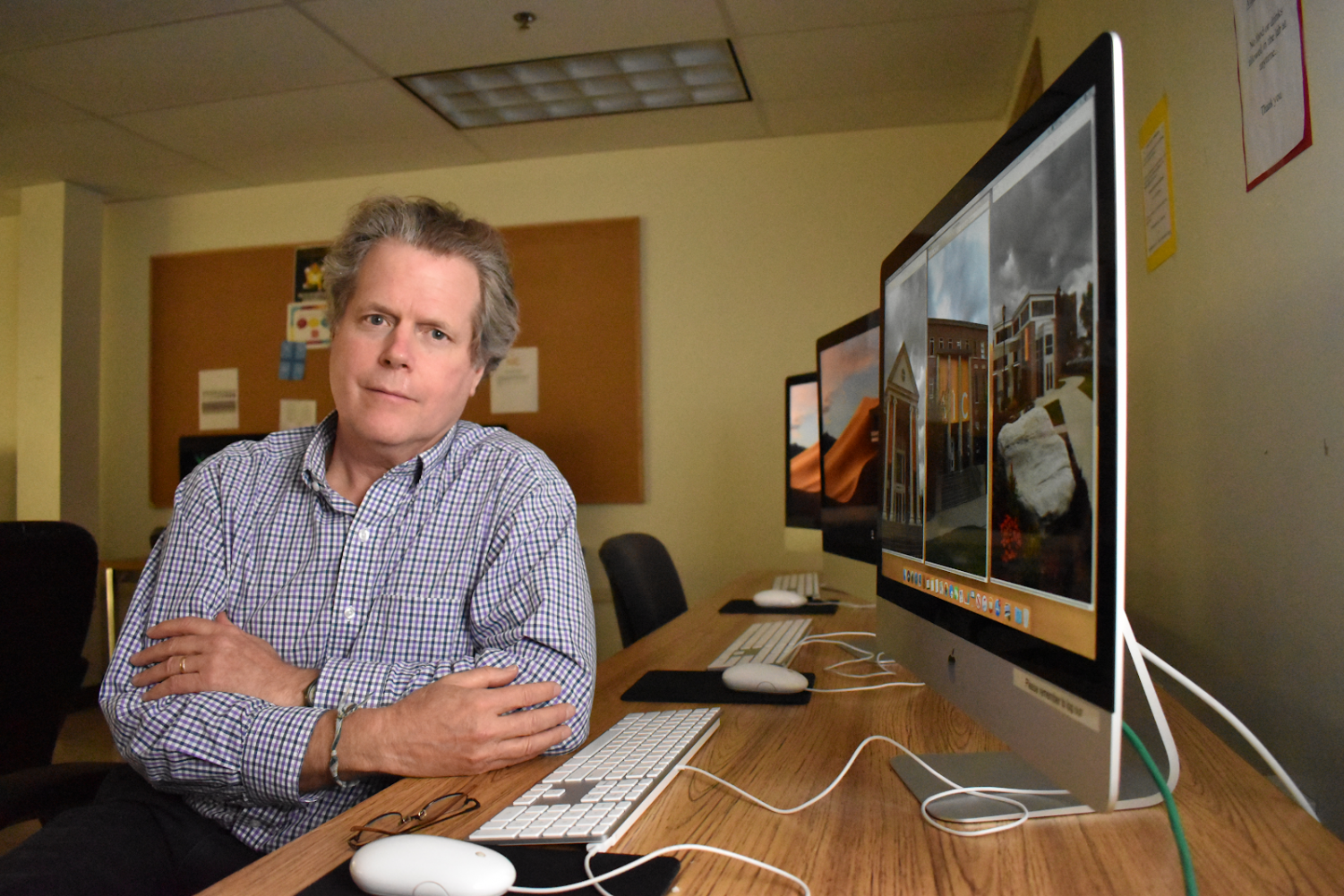 John Nordell, Professor of Visual and Digital Arts and Communication.