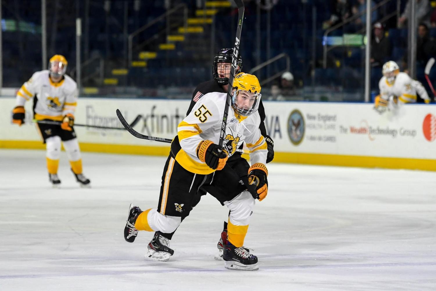 Chris Dodero during the AIC vs Niagra that took place 12/13/19