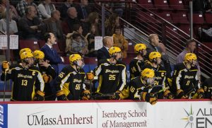 International students bring a competitive edge and diversity to AIC ice hockey