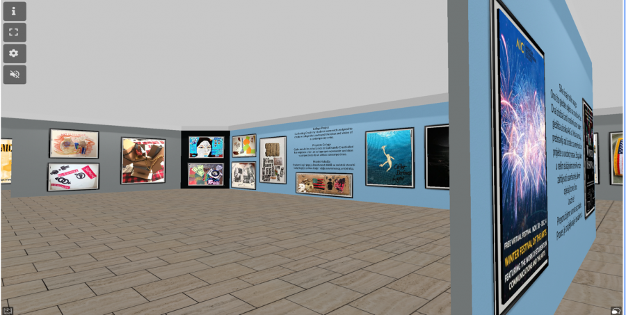 Screenshot of Express Yourself Virtual Museum